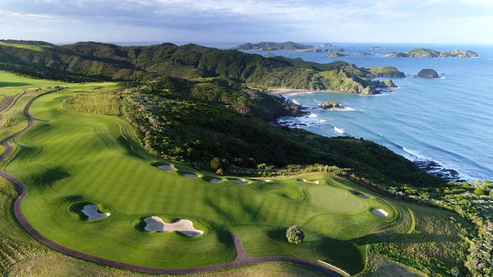 New Zeland Golf Ariel