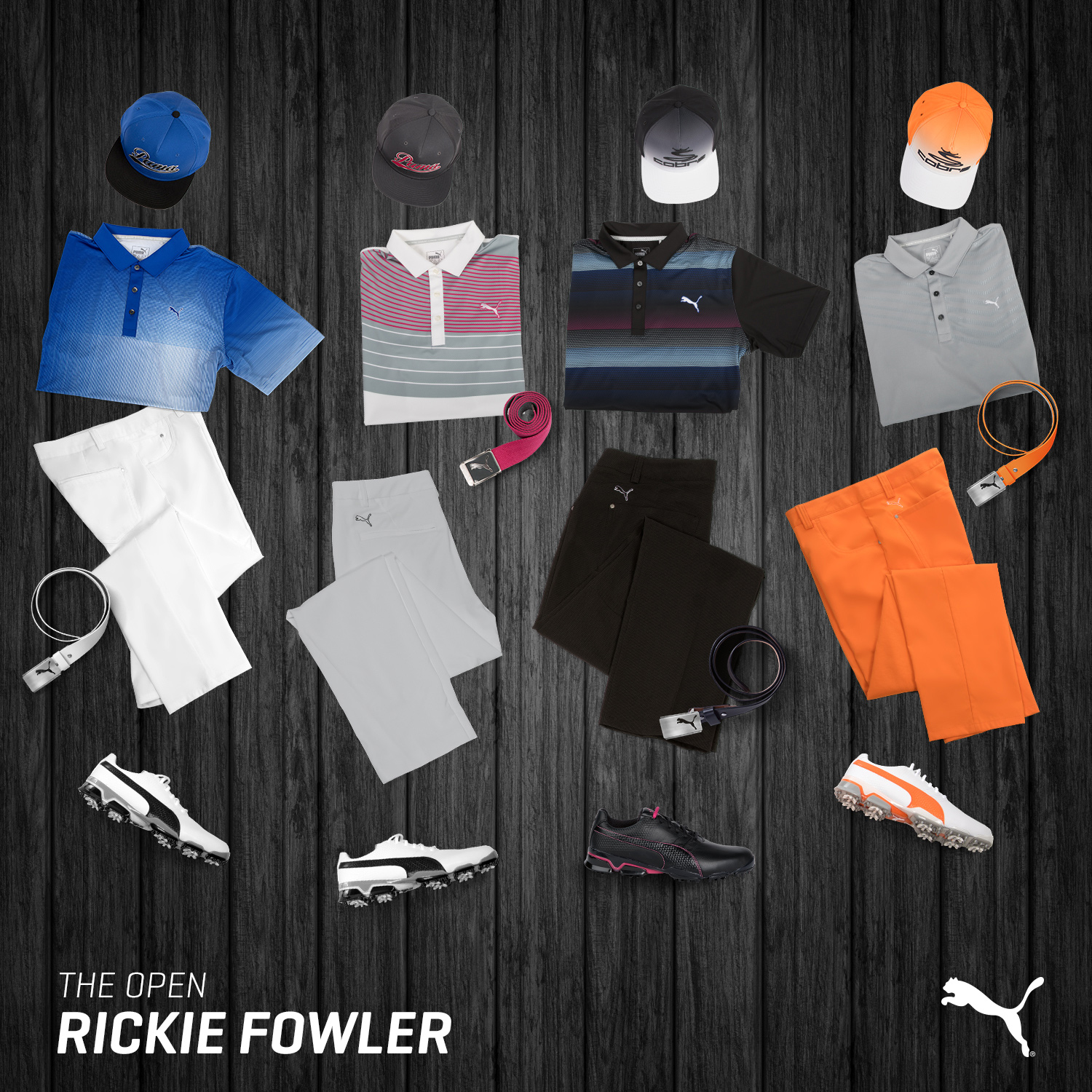 TheOpen Rickie 5x5in1
